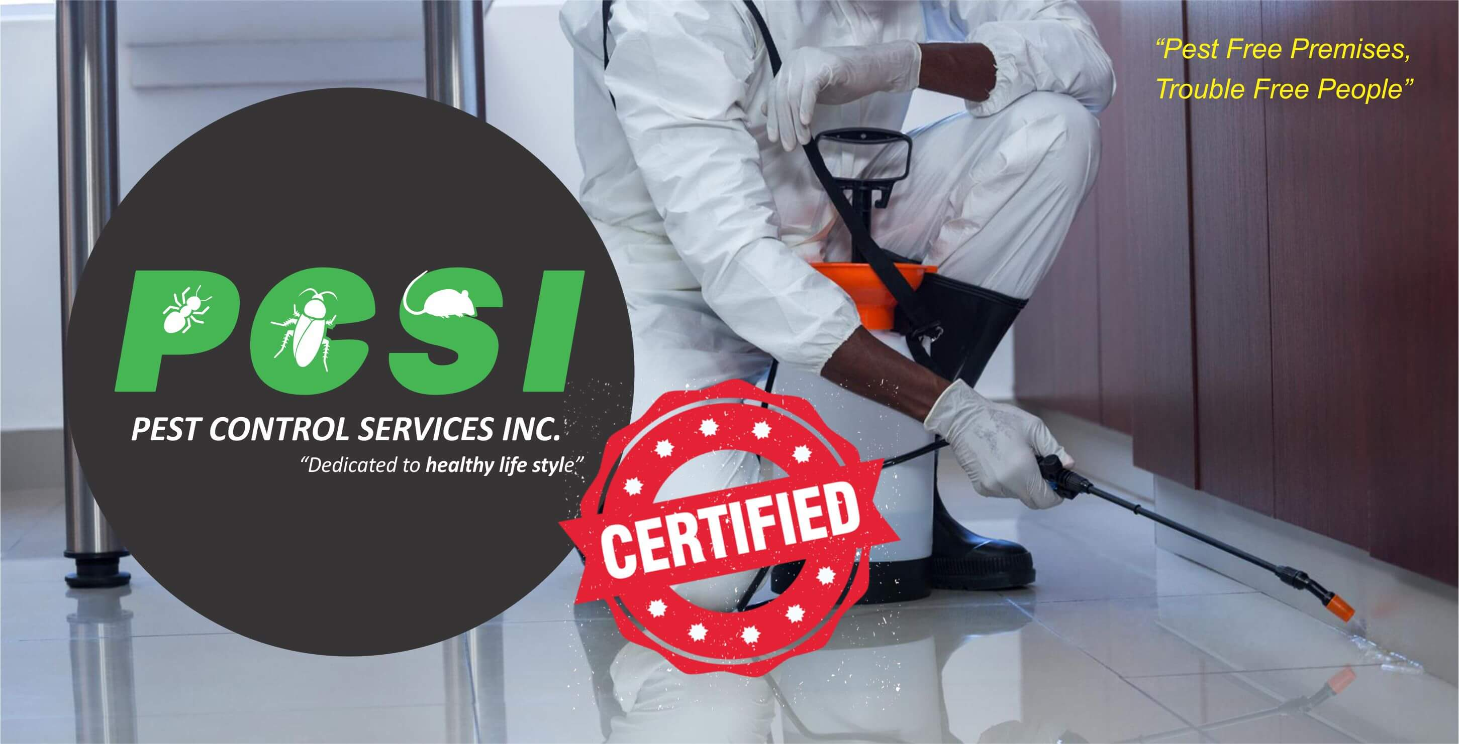 pest control certified company in Indore mp India