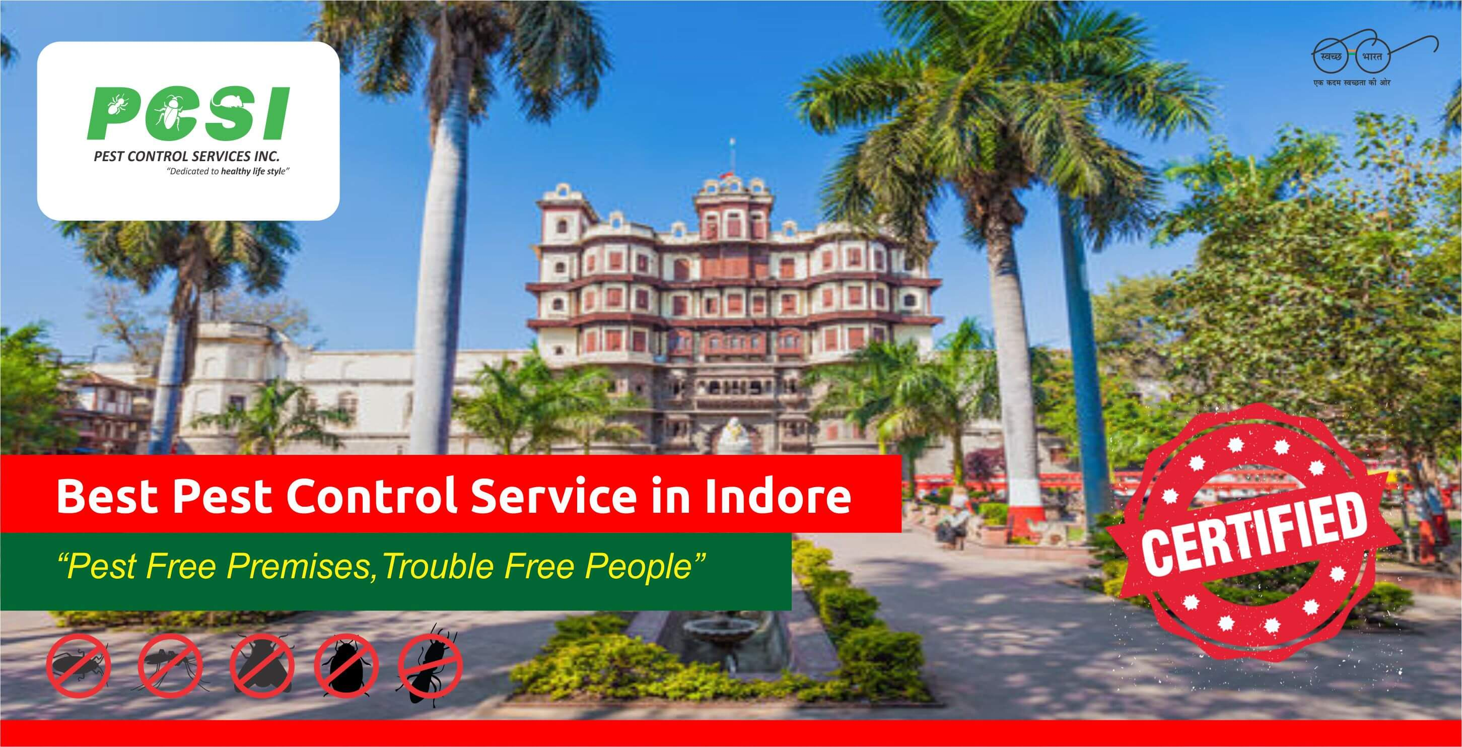 best pest control service in Indore