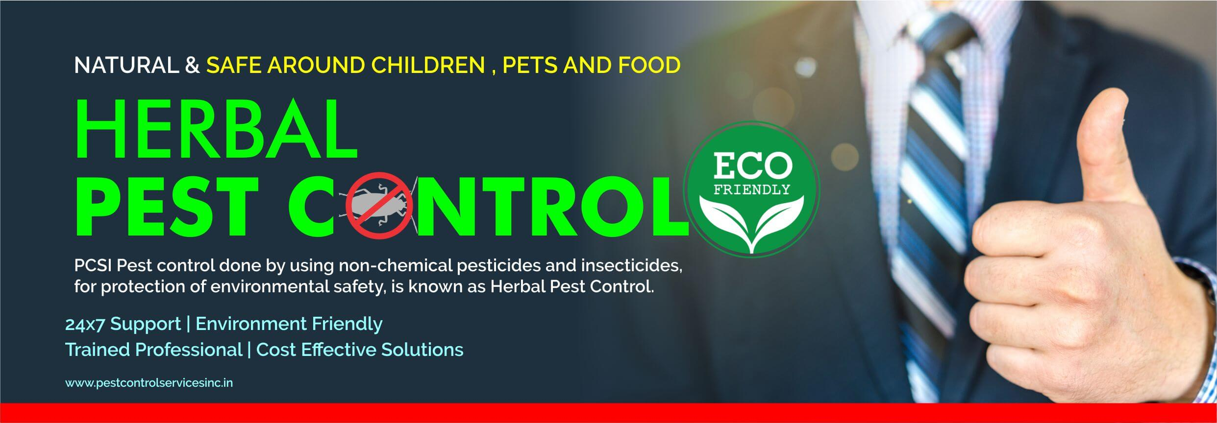 Herbal Pest Control Service in Indore