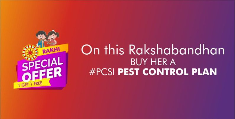 Pest Control - Rakhi Offer