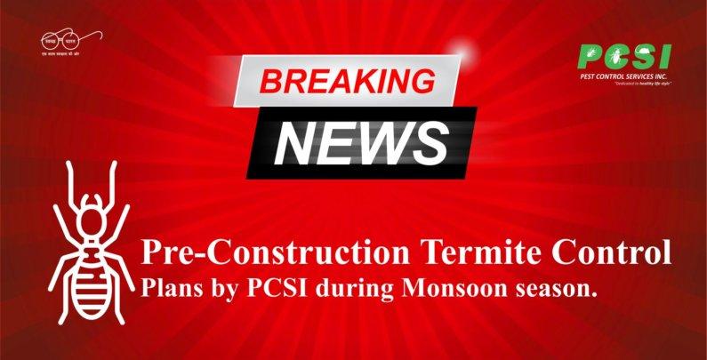Pre-Construction Termite Control