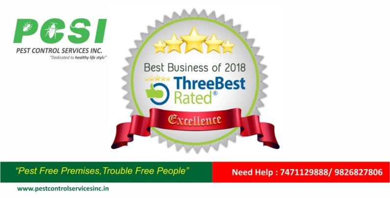 pest control service indore award