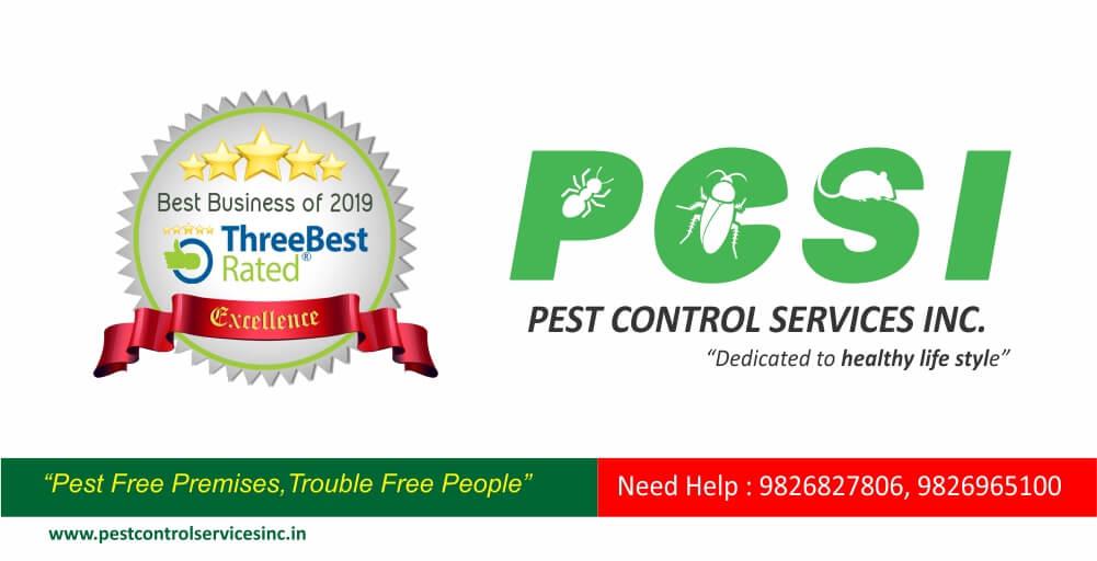 PCSI-the 1st Ranked Pest Control Service Provider in Indore, M.P.